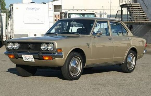 1970 Toyota Corona Deluxe I had a light blue one They Froze up in the winter