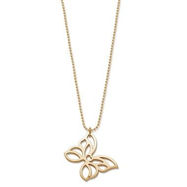 The XXL openwork butterfly by Lilou: a jewel inspired by spring, lightness and freedom! Precious necklace, available in 23k gold-plated and 925 silver #lilou #butterfly #spring #lightness #freedom #silver #necklace #goldplated