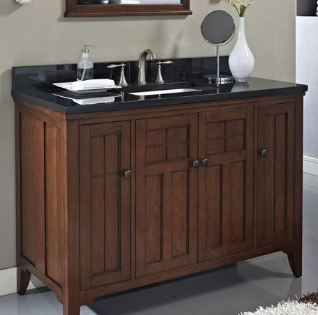 Photo Gallery For Website Fairmont Designs Prairie Vanity Cognac if having is too much but this needs a space for iron hair dryer