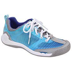 Women's SeaRacer Sailing Shoes, Blue, 8.5