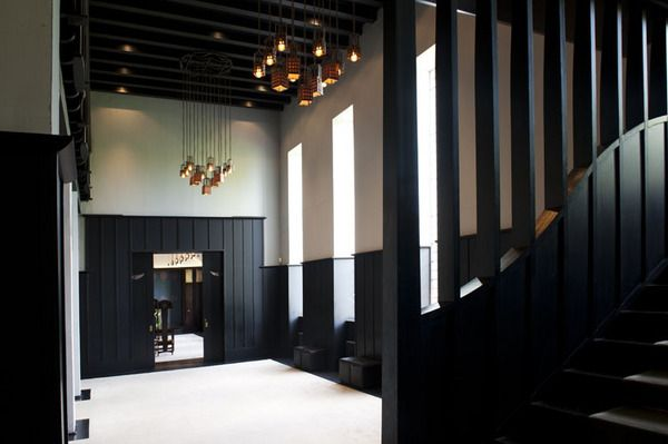 Charles Rennie Mackintosh Lighting, House for an Art Lover, Glasgow