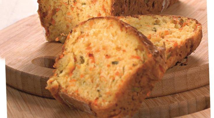 Хлеб с тыквой и зеленым луком