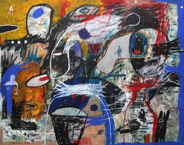 "Saatchi Art Artist Iabadiou Piko; Painting, ""Signal to Journey Mind"" #art"
