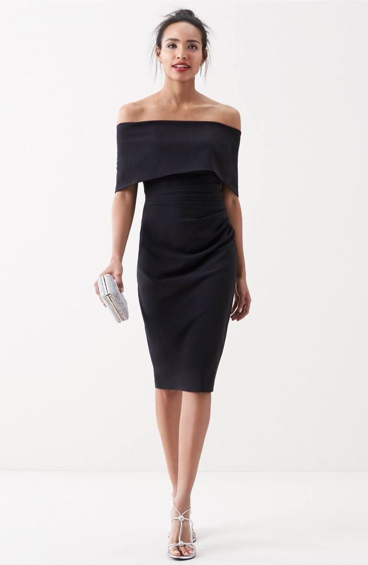 Main Image - Vince Camuto Popover Midi Dress