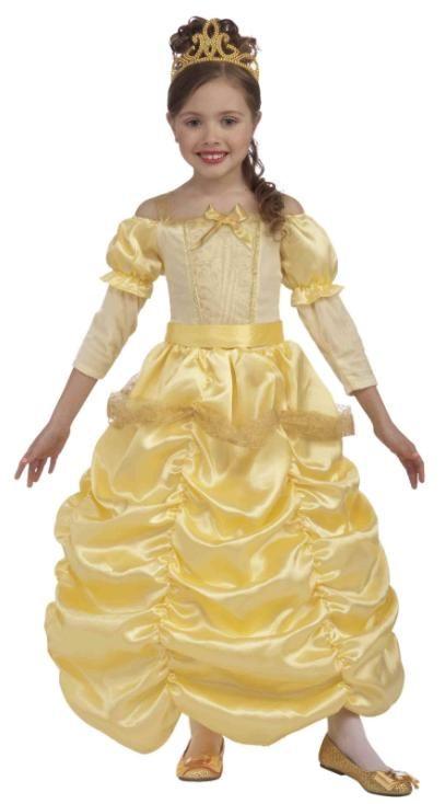 princess belle costume children size medium 8 10 - Halloween Princess Costumes For Toddlers