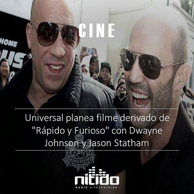 """""""La Roca"""" y Statham, que en las cintas de """"Rápido y Furioso"""" dan vida a los personajes de Hobbs y Deckard, respectivamente, liderarían este proyecto que se encuentra en una fase muy inicial de su desarrollo. ������ -  El estudio Universal planea un """"spin off"""" (filme derivado) de su saga de acción y automóviles """"Rápido y Furioso"""" que protagonizarían Dwayne Johnson, """"La Roca"""" y Jason Statham, informó el medio especializado Deadline. ������ -  La Roca entró en el mundo de """"Rápido y Furioso""""…"""
