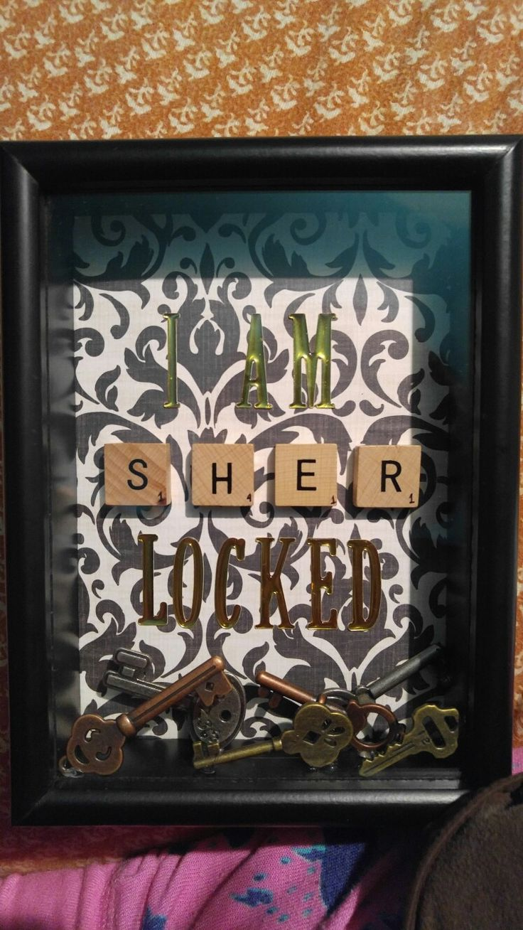 Sherlocked - my Sherlock craft time project.
