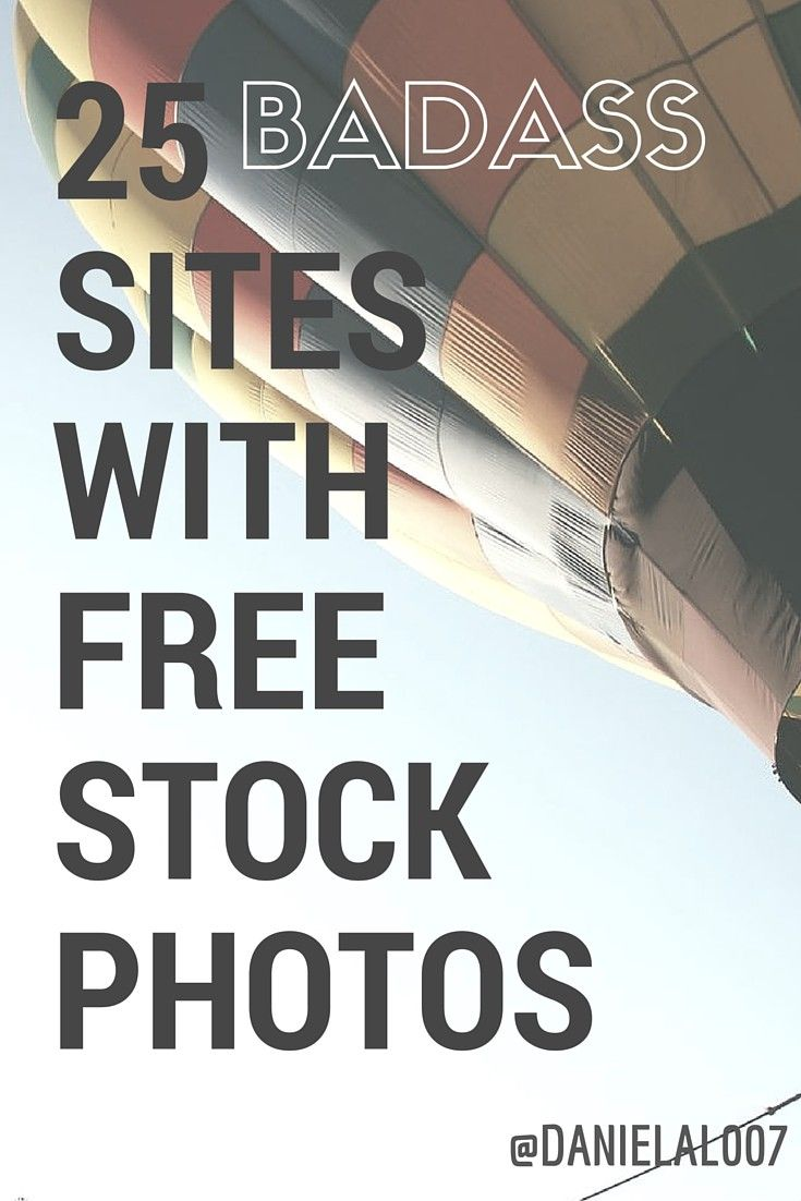 "A version of this article originally appeared in Spanish here. ""25 Badass Sites with Free Stock Photos"" is published by Daniela Lazovska"