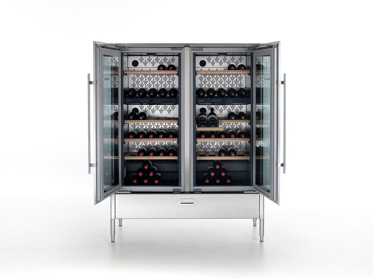 Upright Wine Cooler With Glass Door LIBERI IN CUCINA | Upright Wine Cooler    ALPES