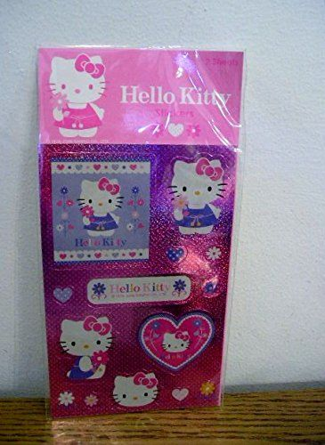 Hello Kitty Hologram Stickers Spring Flowers Hearts * Read more  at the image link.Note:It is affiliate link to Amazon.