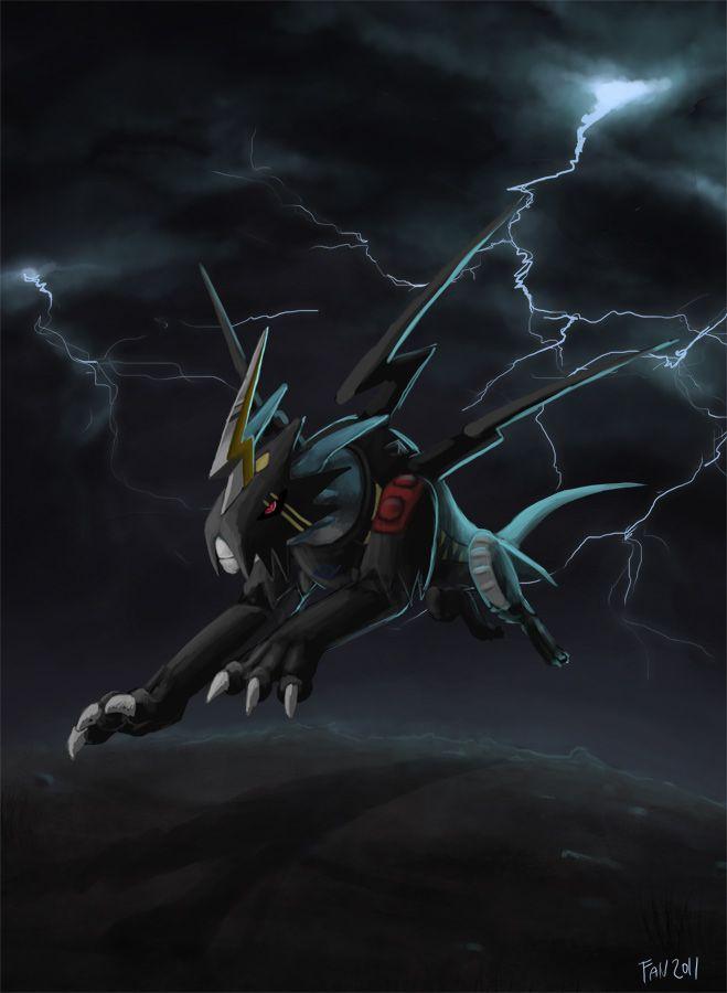 Raidramon by Fan-the-little-demon.deviantart.com on @deviantART