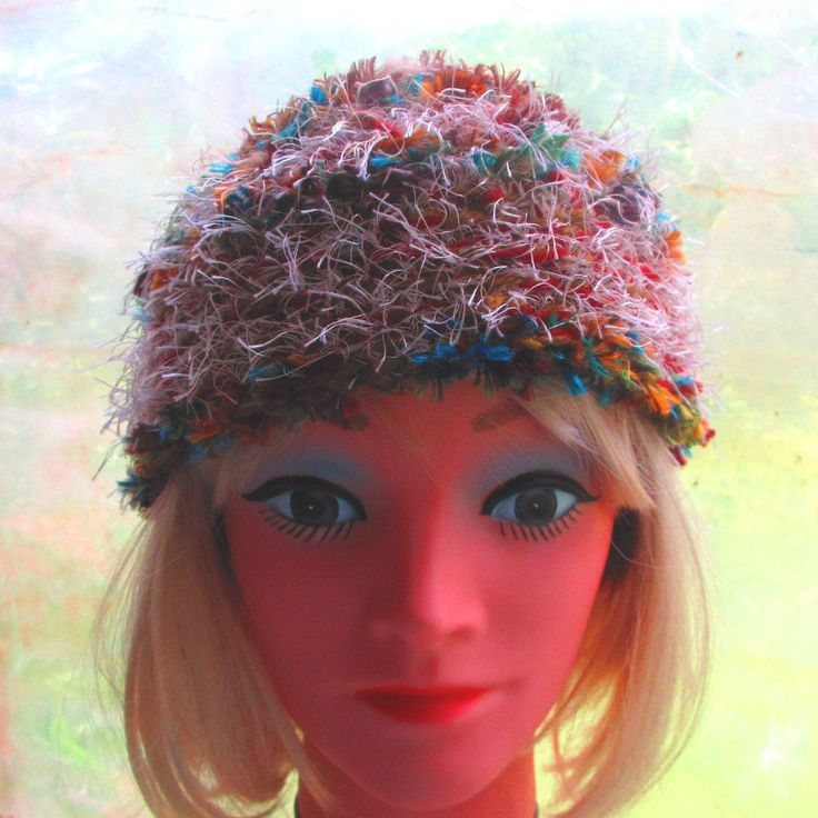 Super Thick & Warm Thermal Hat Beanie for winter by ArtNomadixMeggaYarnz on Etsy