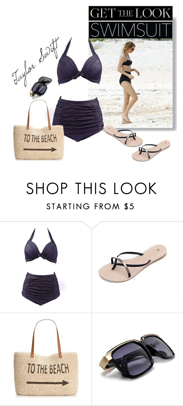 """""""Get the Look: Swimsuit Edition'"""" by dianefantasy ❤ liked on Polyvore featuring Style & Co., GetTheLook, taylorswift, Swimsuits and polyvoreeditorial"""