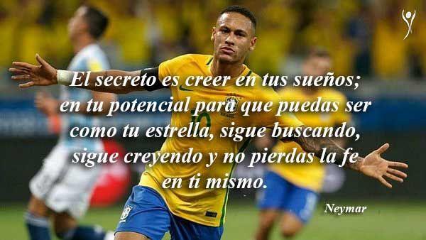 Neymar Frases Futbol Frases De Fútbol Para Inspirar