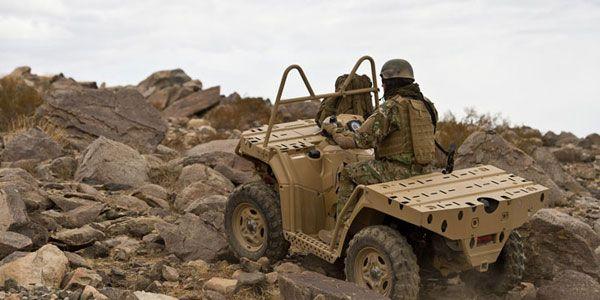 Sportsman Mv 850 Military ATV Quad For Sale