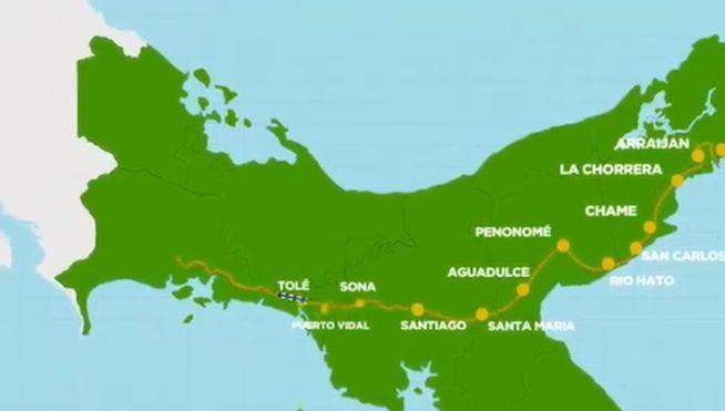 #panama Conoce la posible ruta y estaciones del tren Panamá-Chiriquí - TVN Panamá #orbispanama