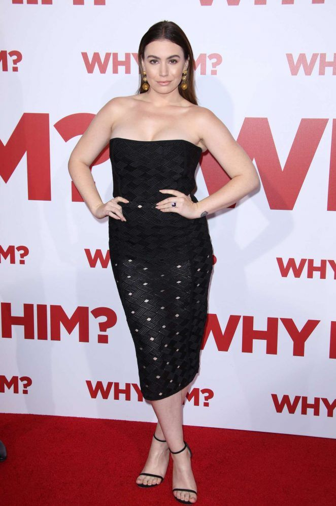 Sophie Tweed-Simmons at the premiere of 20th Century Fox's 'Why Him?'