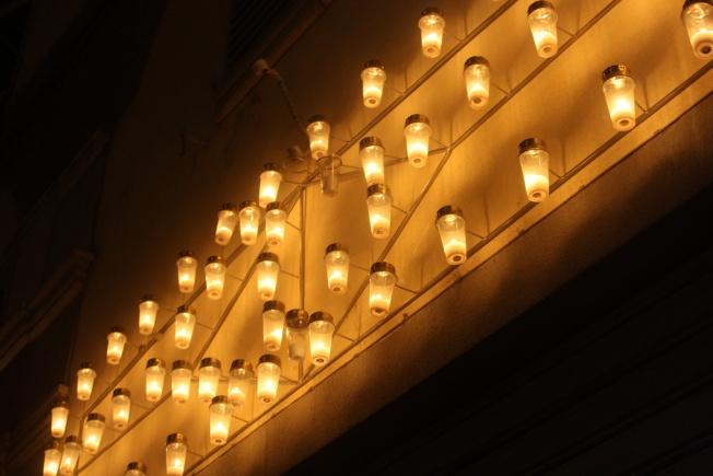 luminara per Santa Croce
