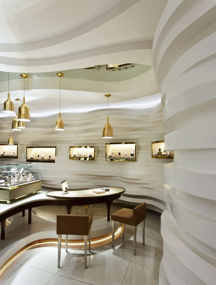 Gemania Jewellery Store By Joey Ho Design Limited, Yibin U2013 China » Retail  Design Blog