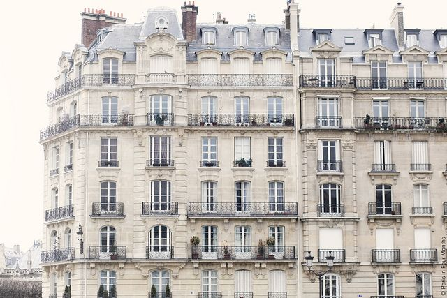 Gorgeous Parisian Architecture by Paris in Four Months, via Flickr