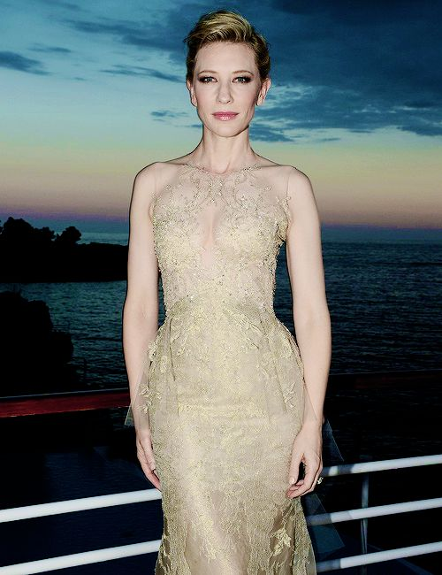 Cate Blanchett in Armani Privé at theVanity Fair & Armani Party at 2014 Cannes Film Festival