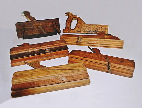Check out this item in my Etsy shop https://www.etsy.com/ca/listing/546252443/vintage-antique-wood-molding-tools-5