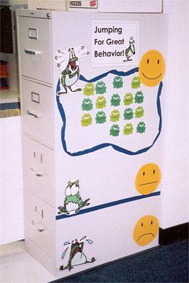 Cute behavior management chart :)