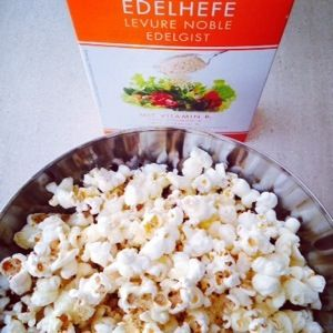 Popcorn met Edelgistvlokken - De Groene Mama