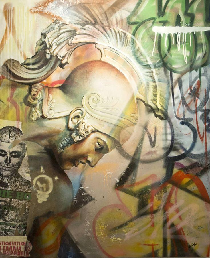 Best PICHI AVO Images On Pinterest Surrealism Artists And - Beautiful giant murals greek gods pichi avo
