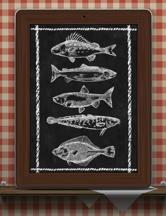 Chalkboard By TimelessMemoryPrints On Etsy · Chalkboard Art  KitchenChalkboard ...