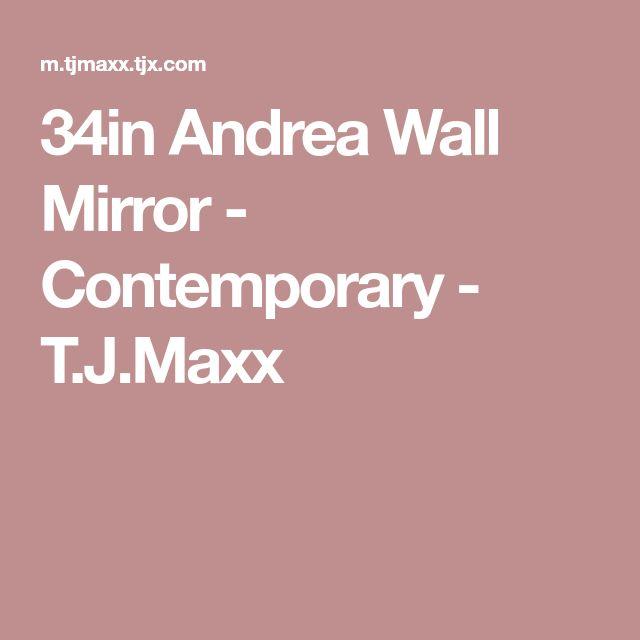 34in Andrea Wall Mirror - Contemporary - T.J.Maxx
