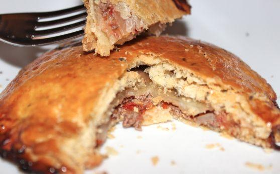 Chaussons viande hachée & mozzarella, façon focaccia