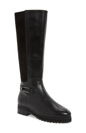 Women s Sudini Frida Waterproof Knee High Boot - Black  b8e373d8c4