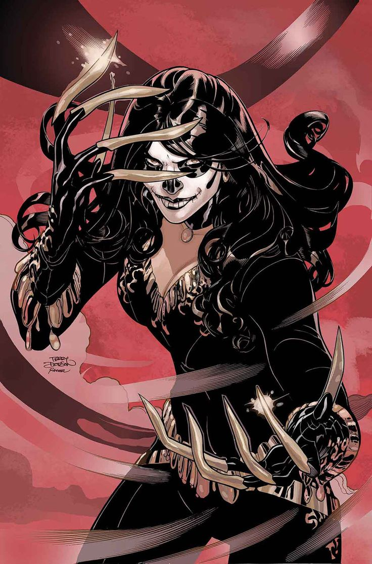 Lady Deathstrike in X-Men 7 Cover art by Terry Dodson at Comic Art Community Gallery. Perfect for Halloween. :) http://comicartcommunity.com/gallery/details.php?image_id=51141