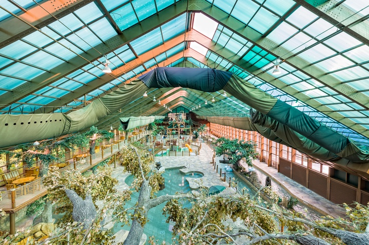 Indoor Water Park At Westgate Smoky Mountain Resort And