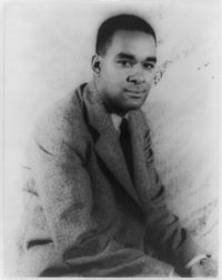 Richard Wright - author of sometimes controversial novels, short stories & non-fiction as his literature concerned racial themes. His work helped redefine discussions of race relations in US in mid-20th century.