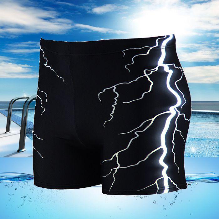 Men Swimsuit Beach Board Surf Swimming Trunks Sports Suits Sexy Men print Swimwear boy Swim Boxer Shorts Men Bikini Swim Trunks