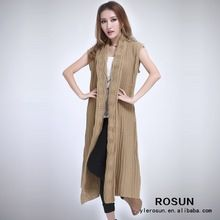 Fashion Korean Coat Sweater 2015 Women Sleeveless Long Coat Best Buy follow this link http://shopingayo.space