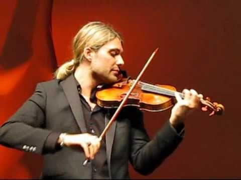 Violin virtuoso David Garrett goes heavy metal on his new album Rock Symphonies, The album includes rock anthems such as Zeppelin's Kashmir, Metallica's Mast...