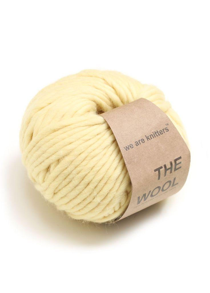 Wool Yarn Balls Knitting Yellow