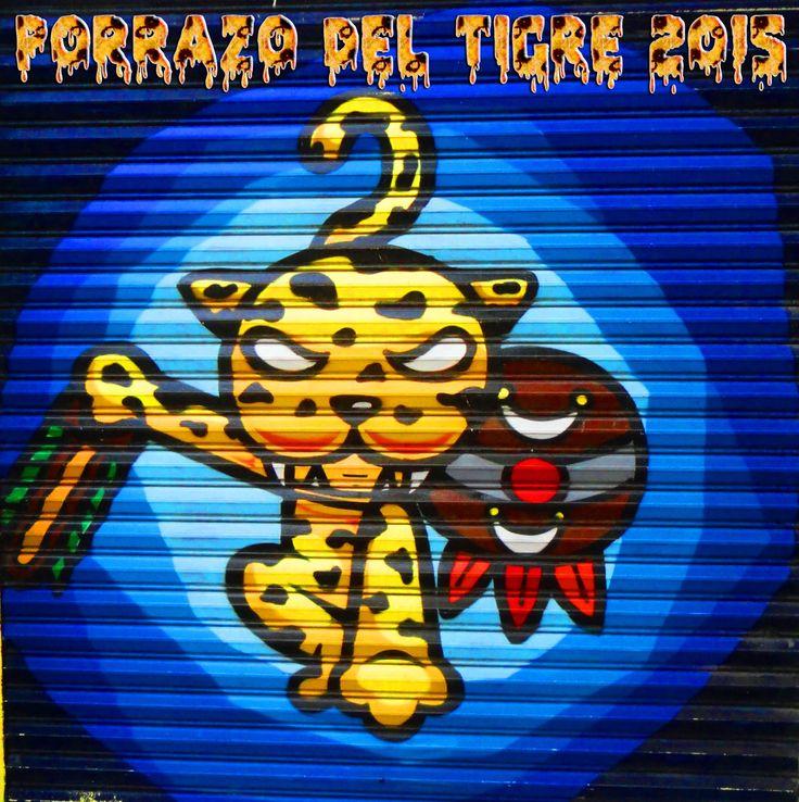 El Porrazo del Tigre - Paseo del Pendón 2015 Chilpancingo Gro.