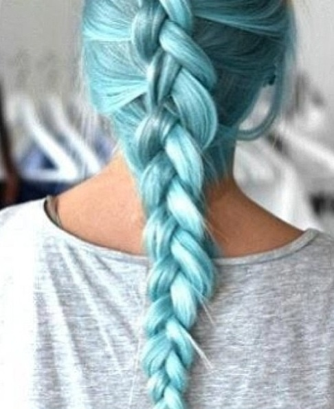 This teal hair color is gorgeous | Fake Hair- Wigs ...
