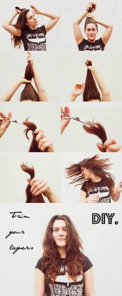 Best 25 cut own hair ideas on pinterest cut your own hair diy ponytail techniques simple cuts and colors for beginning diy ers solutioingenieria Images