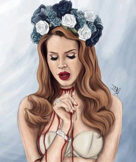 lana del rey tattoo die young - photo #29