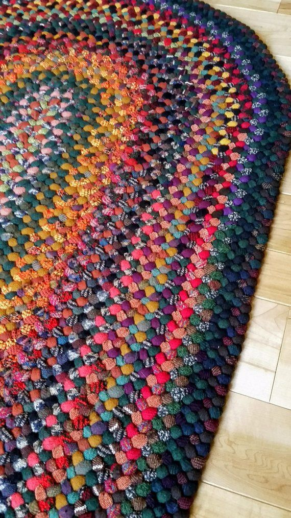 Braided 2 5 X Foot Wool Rug In Autumn