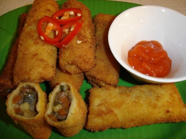indonesian style rissole....haven't had these in forever and had a craving out of the blue