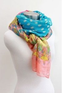 S13M Multi-color scarves.