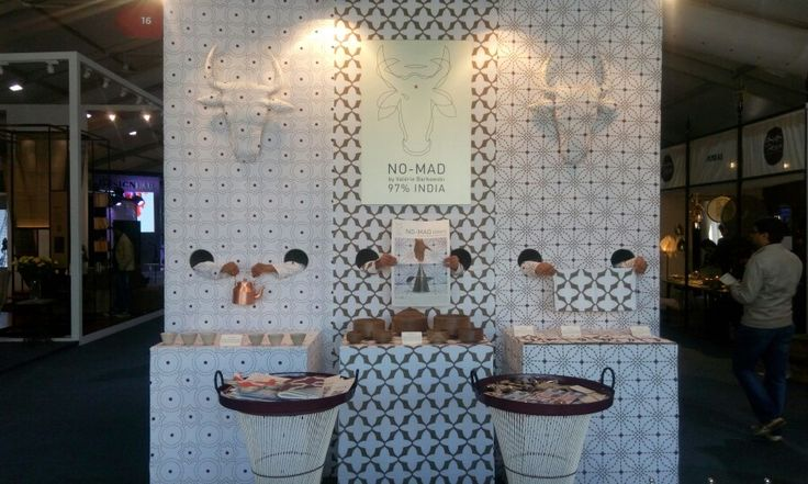 A super creative installation and display by Nomad at India Design ID 2016
