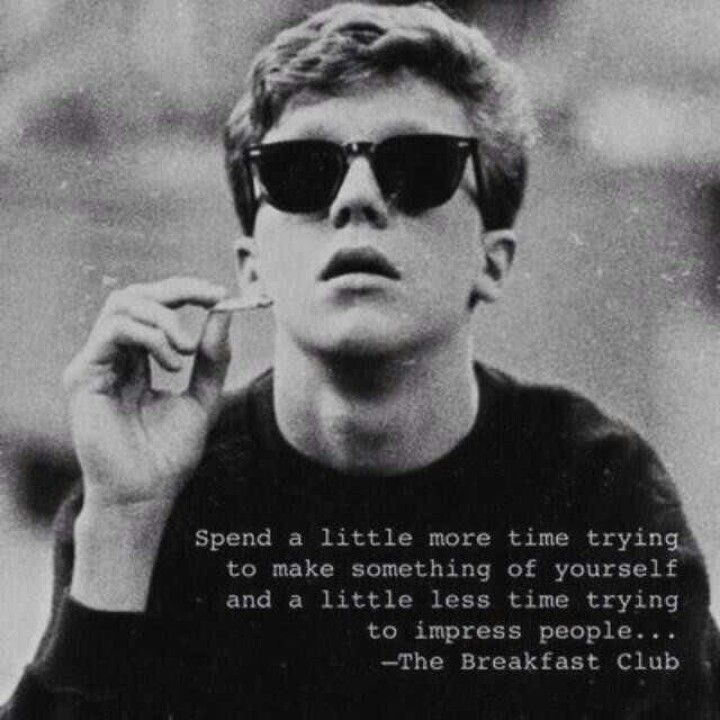Breakfast Club Quote Quotes Pinterest