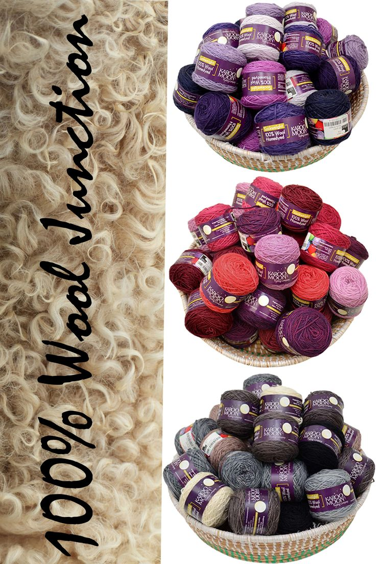 100% Wool blanket kit available from www.wooljunction.co.za